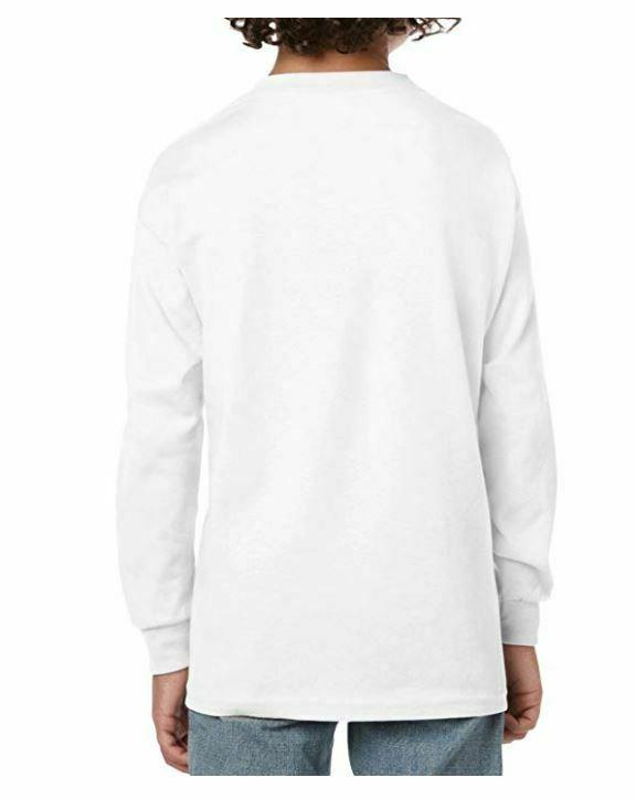 Gildan Cotton T-Shirt, White,