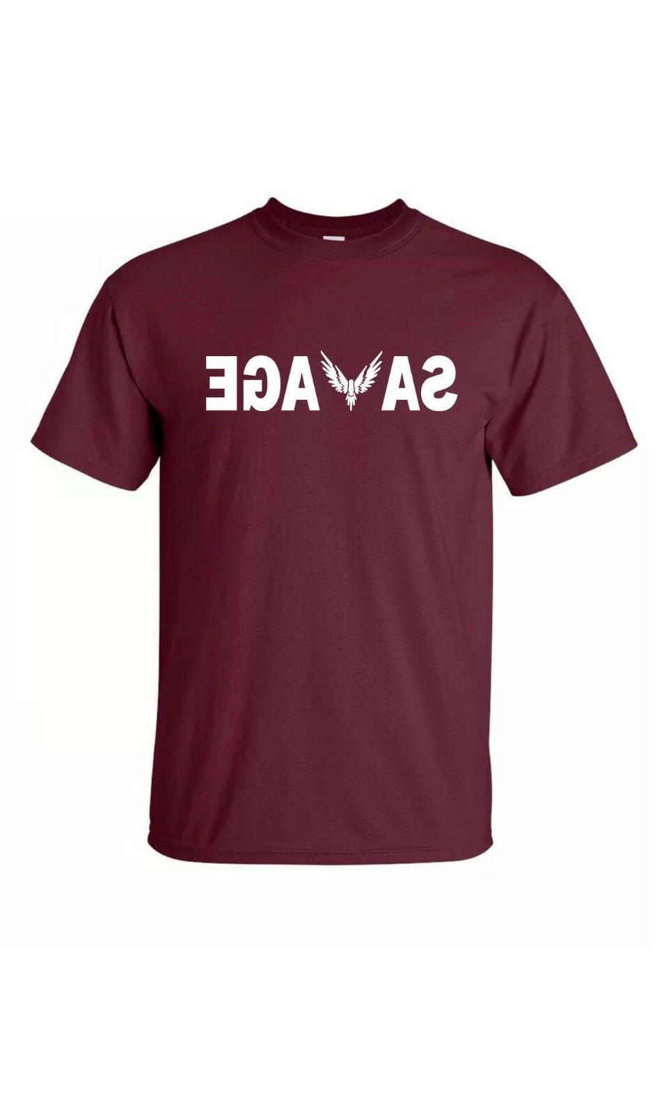 """Savage""Tee Adult/ Kids Youth T-Shirt Merch"