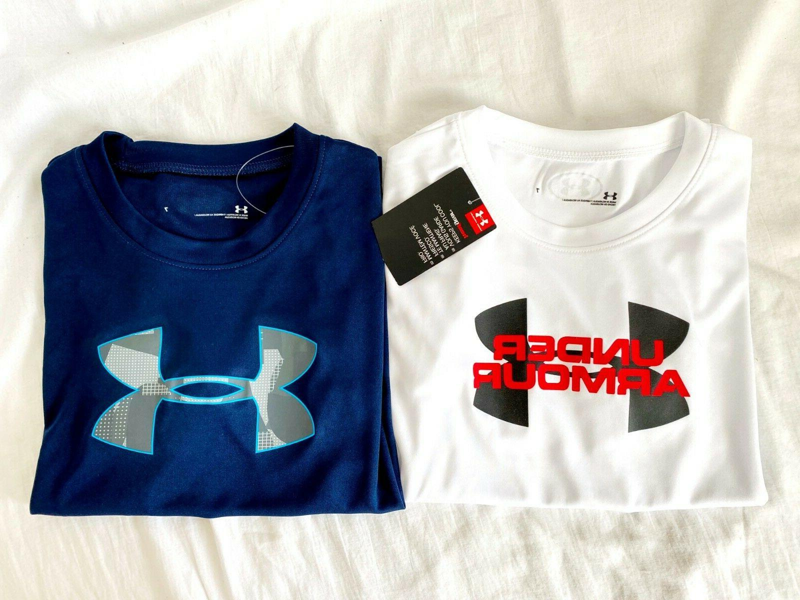 Lot of Armour Boy's Youth Heatgear Loose Sz 6 or Brand New