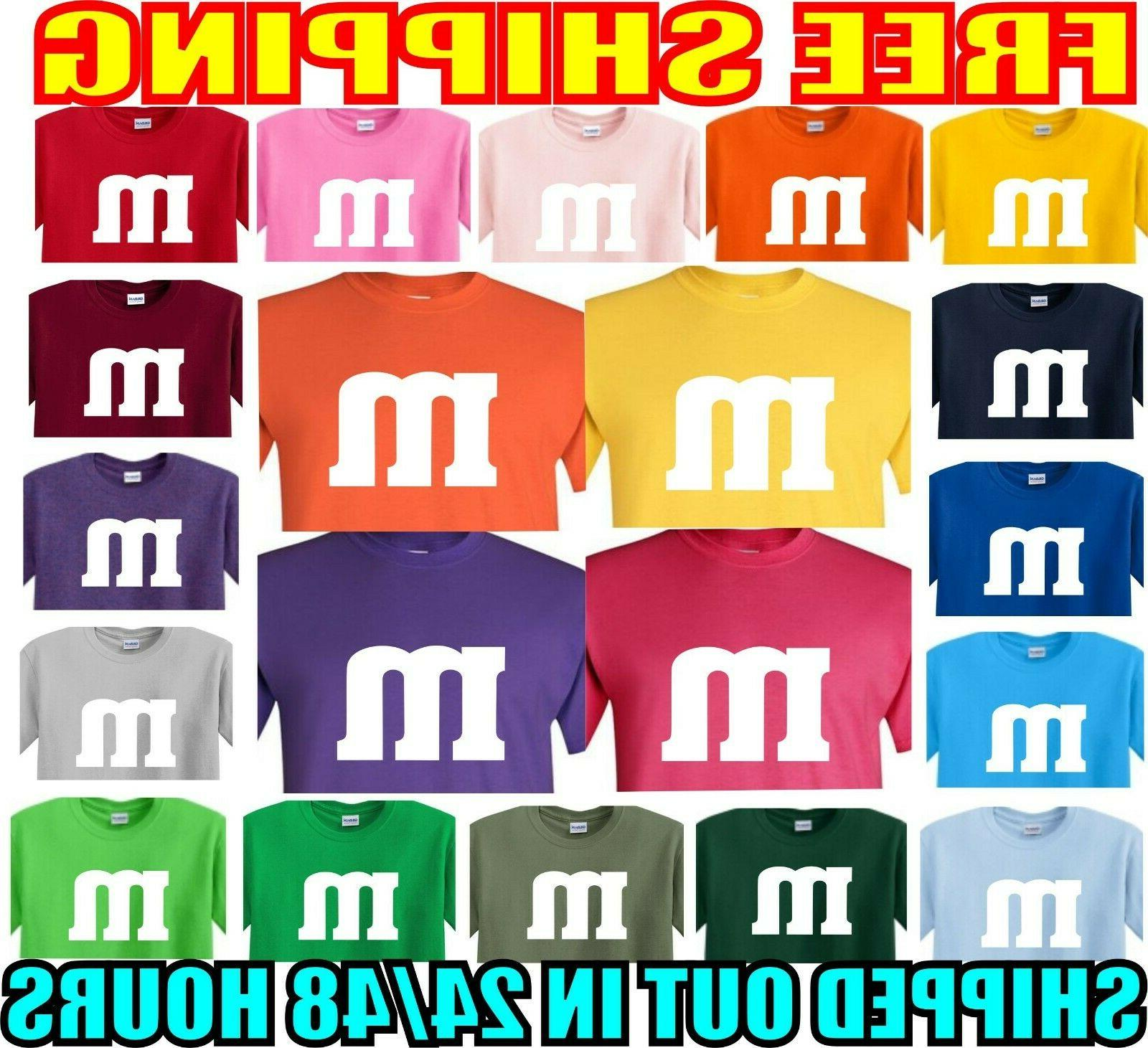 m and m s t shirt m