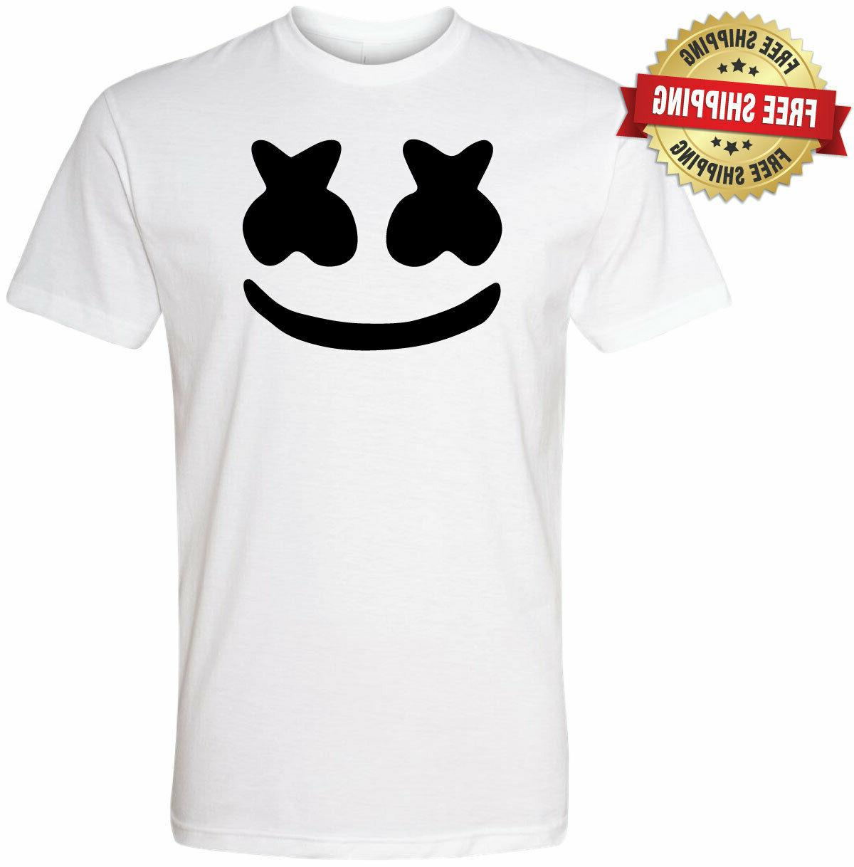 marshmello dj youth and adult unisex t