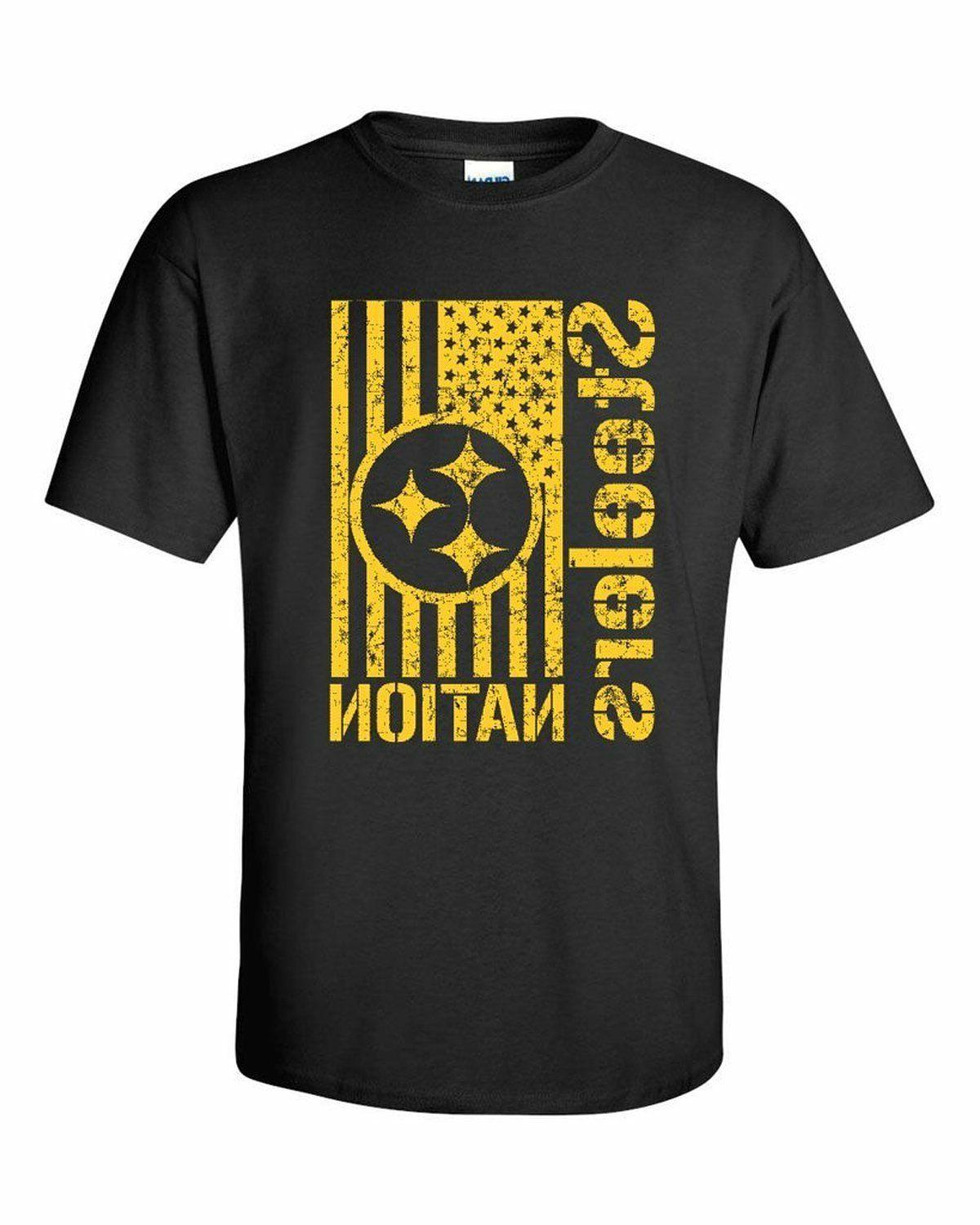 men s steelers nation t shirt youth