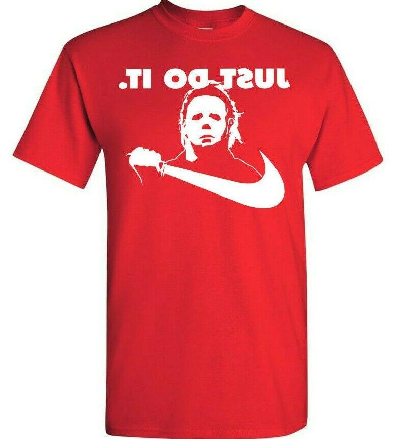 Michael Myers T-Shirt Do It Halloween Nike Scary