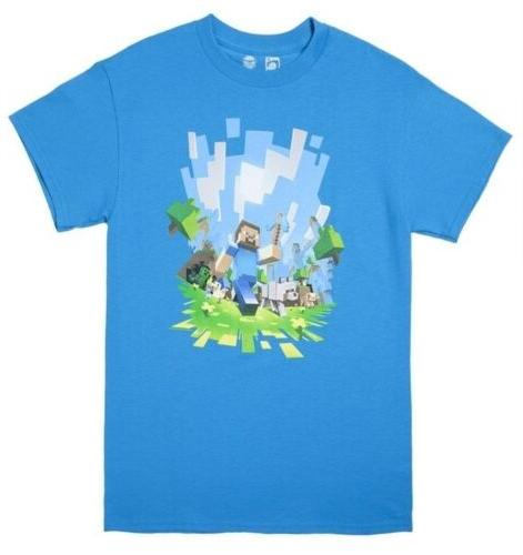 minecraft adventure light blue youth s official