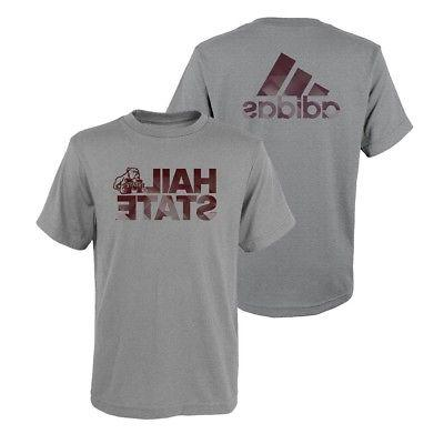 mississippi state bulldogs ncaa adidas youth grey