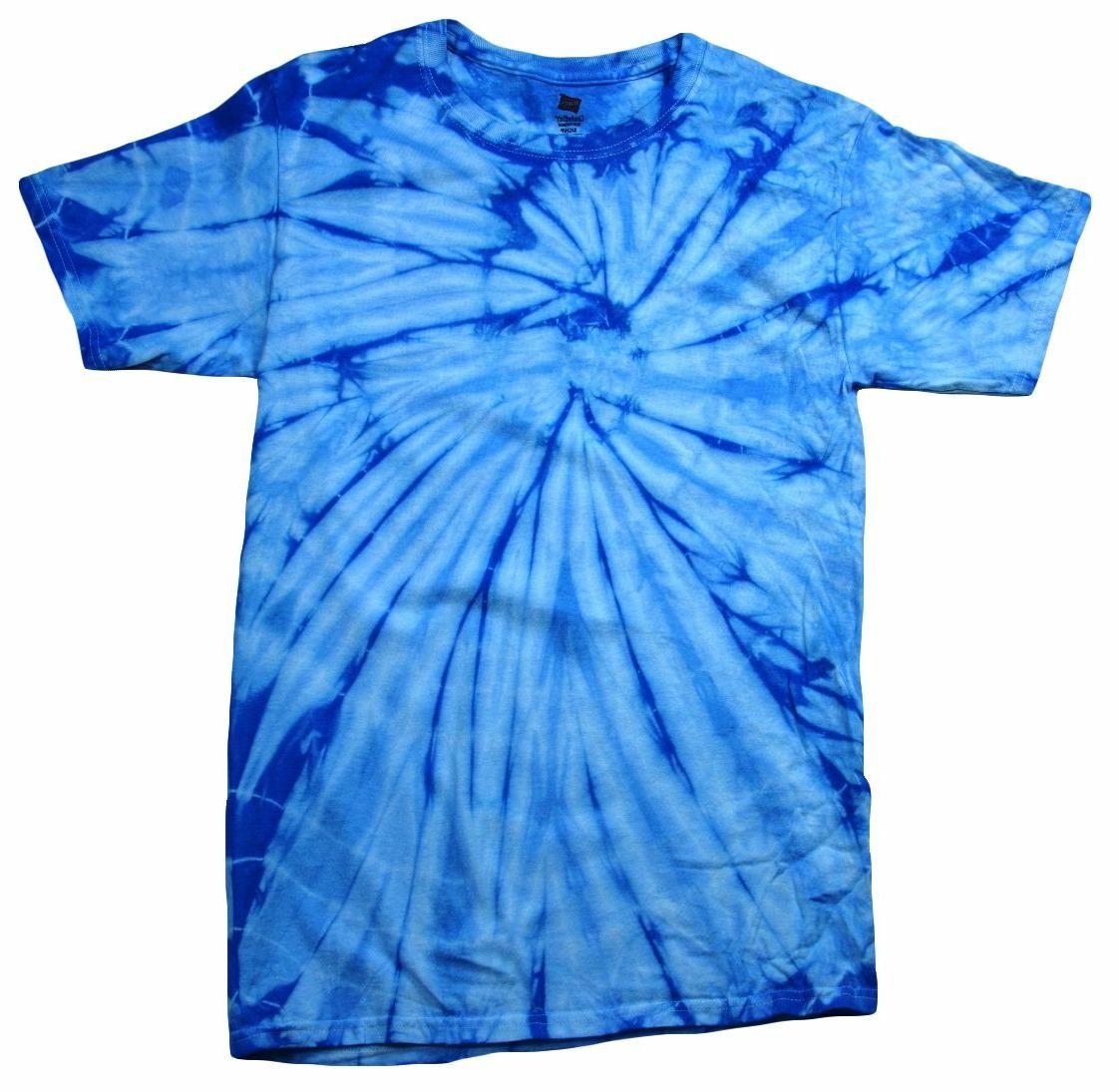 Multi-Color Tie Dye T-Shirts Kids & Hand dyed Cotton