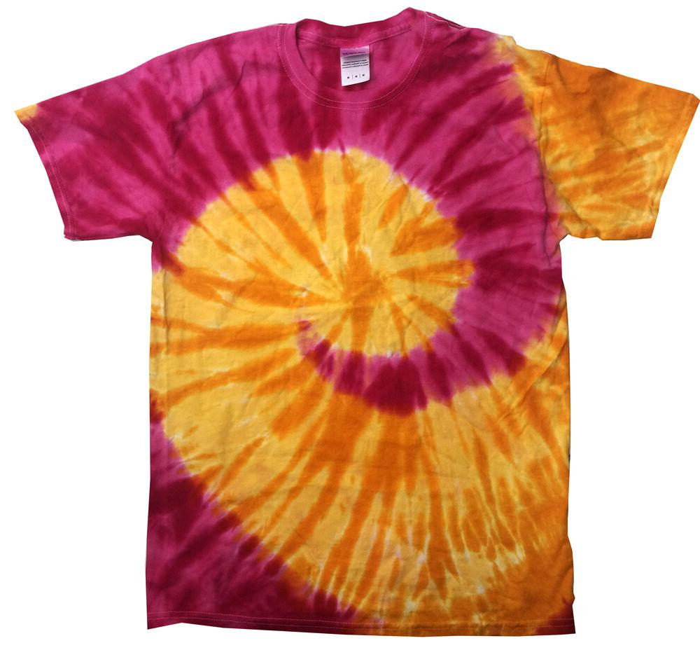 Multi-Color Dye T-Shirts Kids & Adult dyed Colortone