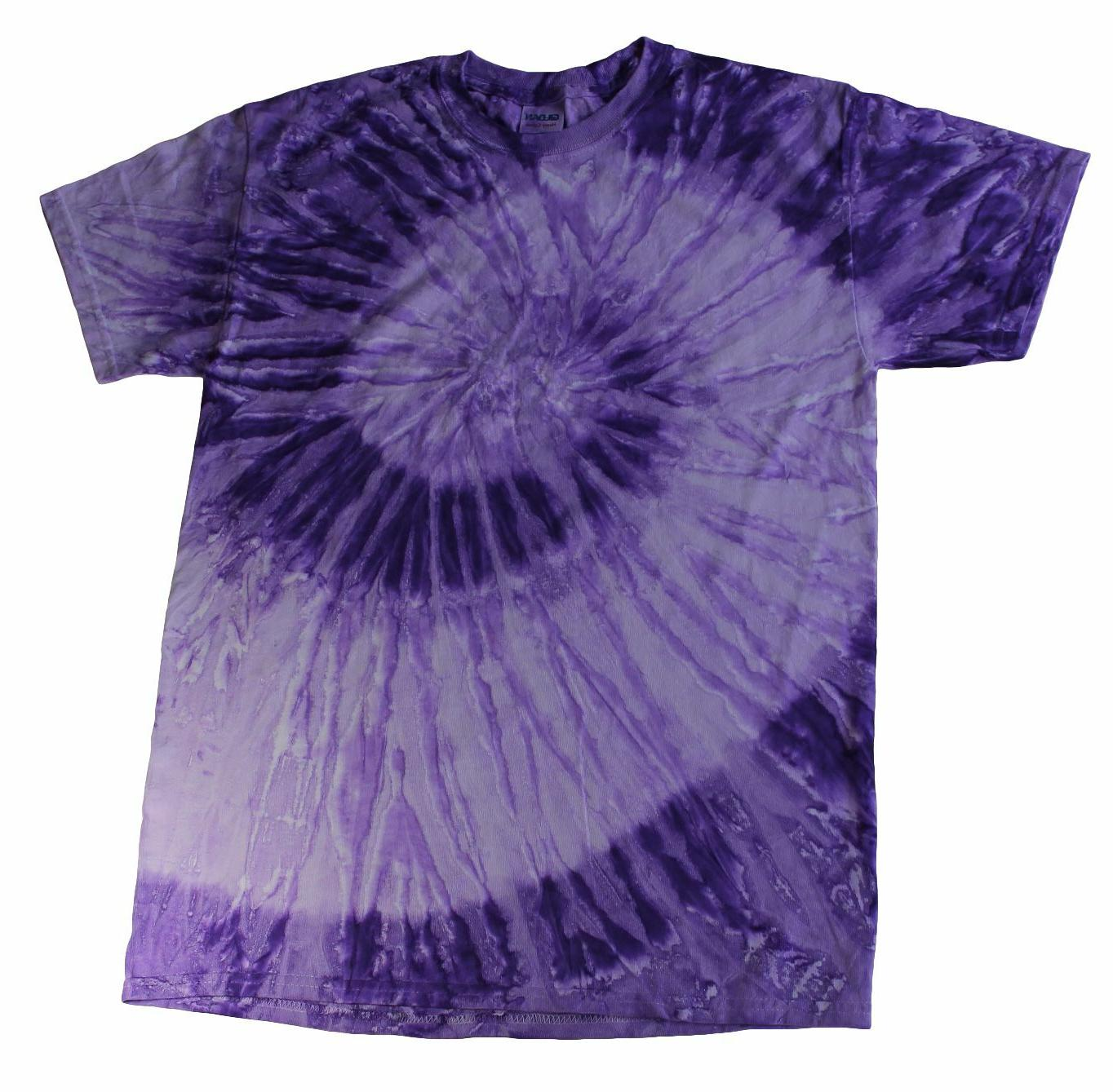Multi-Color Tie Dye T-Shirts Kids & Hand