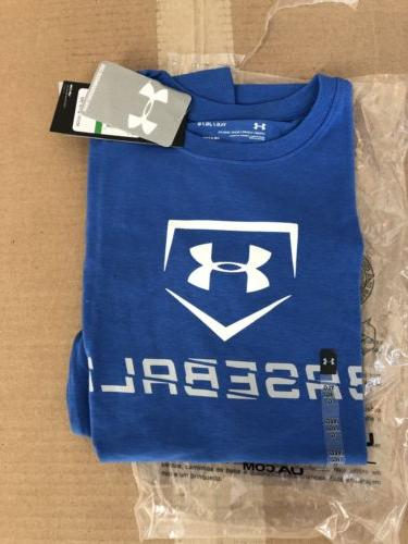 New Under Armour Youth Boys t-shirt Sz: Large