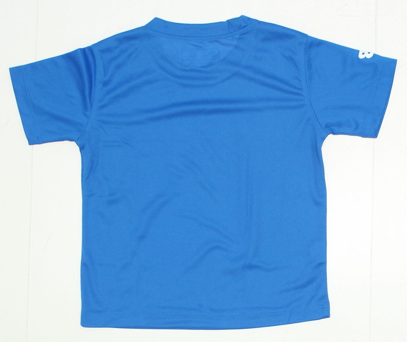 NEW New Performance Tee Blue 02846
