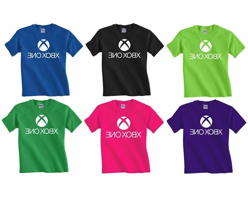 new youth xbox one t shirt kids