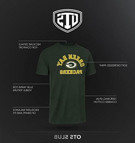 NFL OTS Sleeve Team Distressed Tee, Jet