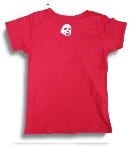 BOYS HALLOWEEN MICHAEL FUNNY PRE-WASHED T-SHIRT