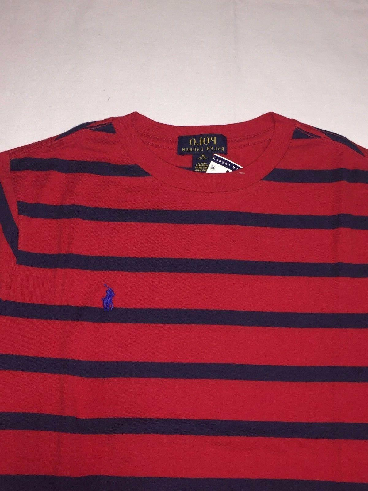 NWT,POLO RALPH LAUREN YOUTH T.SHIRTS-RED /
