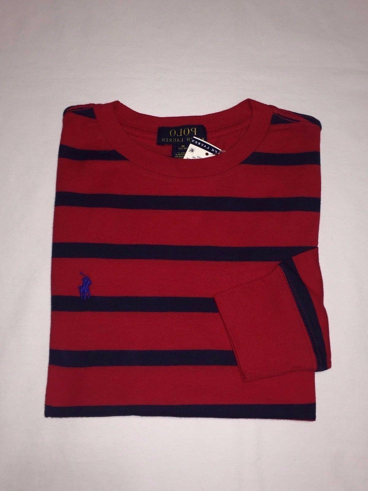 nwt boy s youth stripes long sleeve