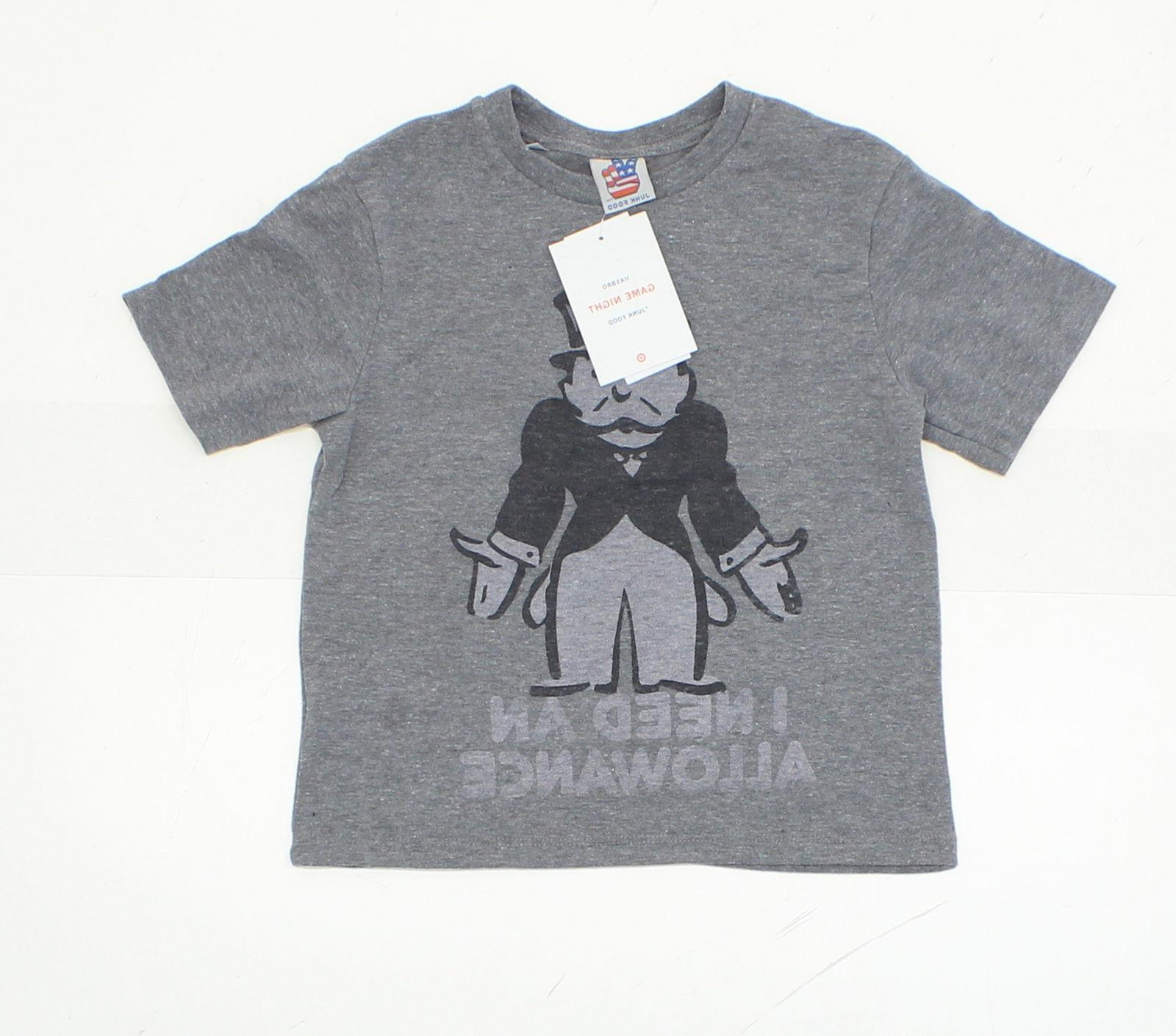 nwt youth monopoly funny graphic t shirt