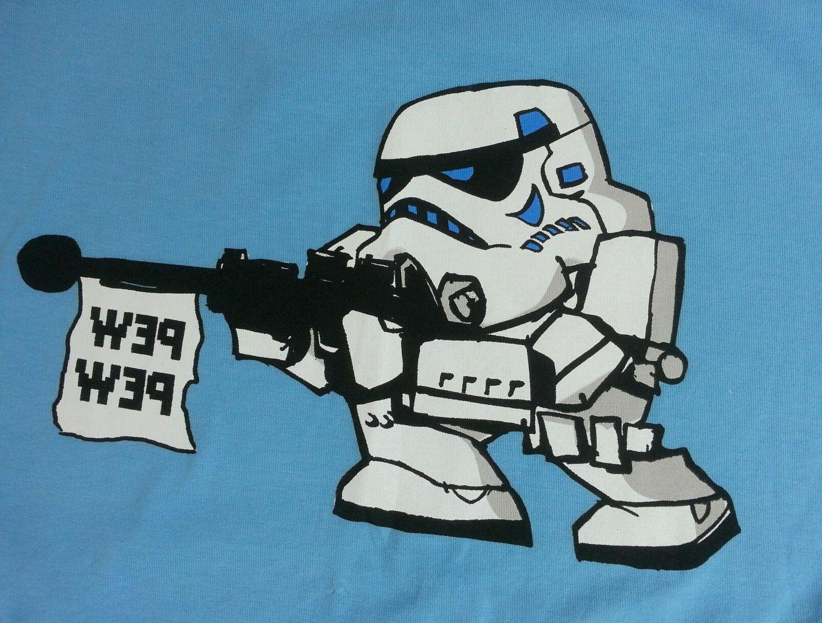 Official licensed Wars Stormtrooper Pew Youth