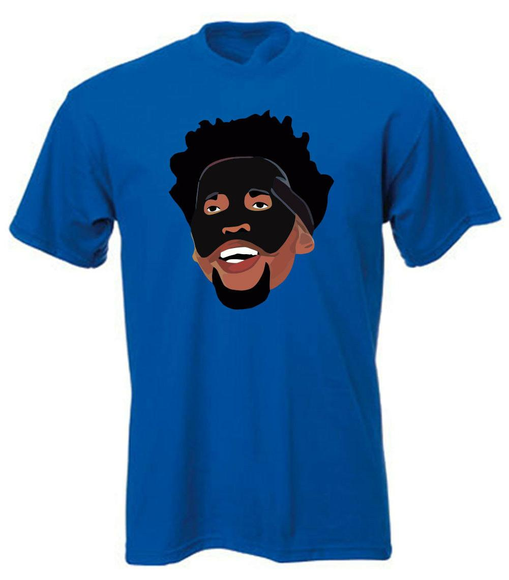 "Philadelphia 76ers Trust the Process Joel Embiid ""Black Mask"