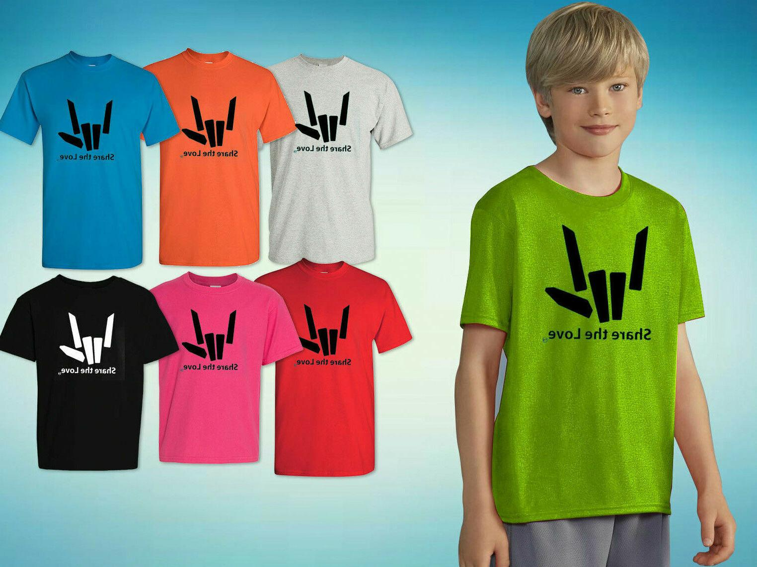 share the love t shirt kid s