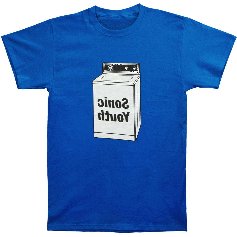 Sonic Youth Men's Machine Blue Size