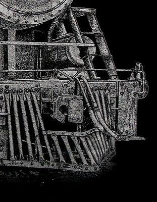 Steam -- Limited Locomotive Black T-shirt 5XL