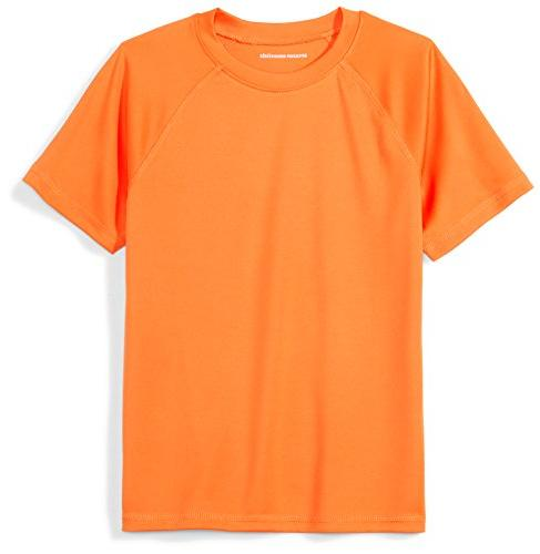 toddler boys swim tee orange 2t