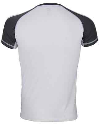 Adidas Youth Athletic Climalite T-Shirt, White Dark Gray