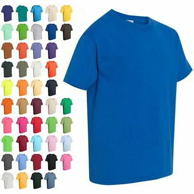youth boys and girls kids short sleeve