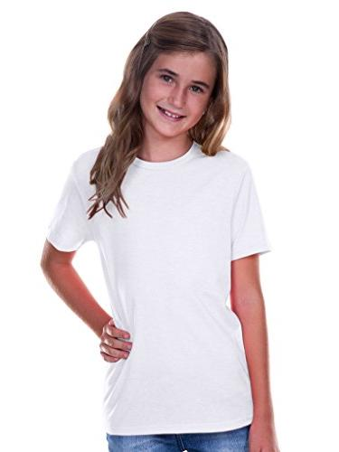 youth crew neck short sleeve tee jersey