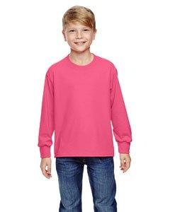 Fruit of the Loom Youth Heavy Cotton Long-Sleeve T-Shirt, Me