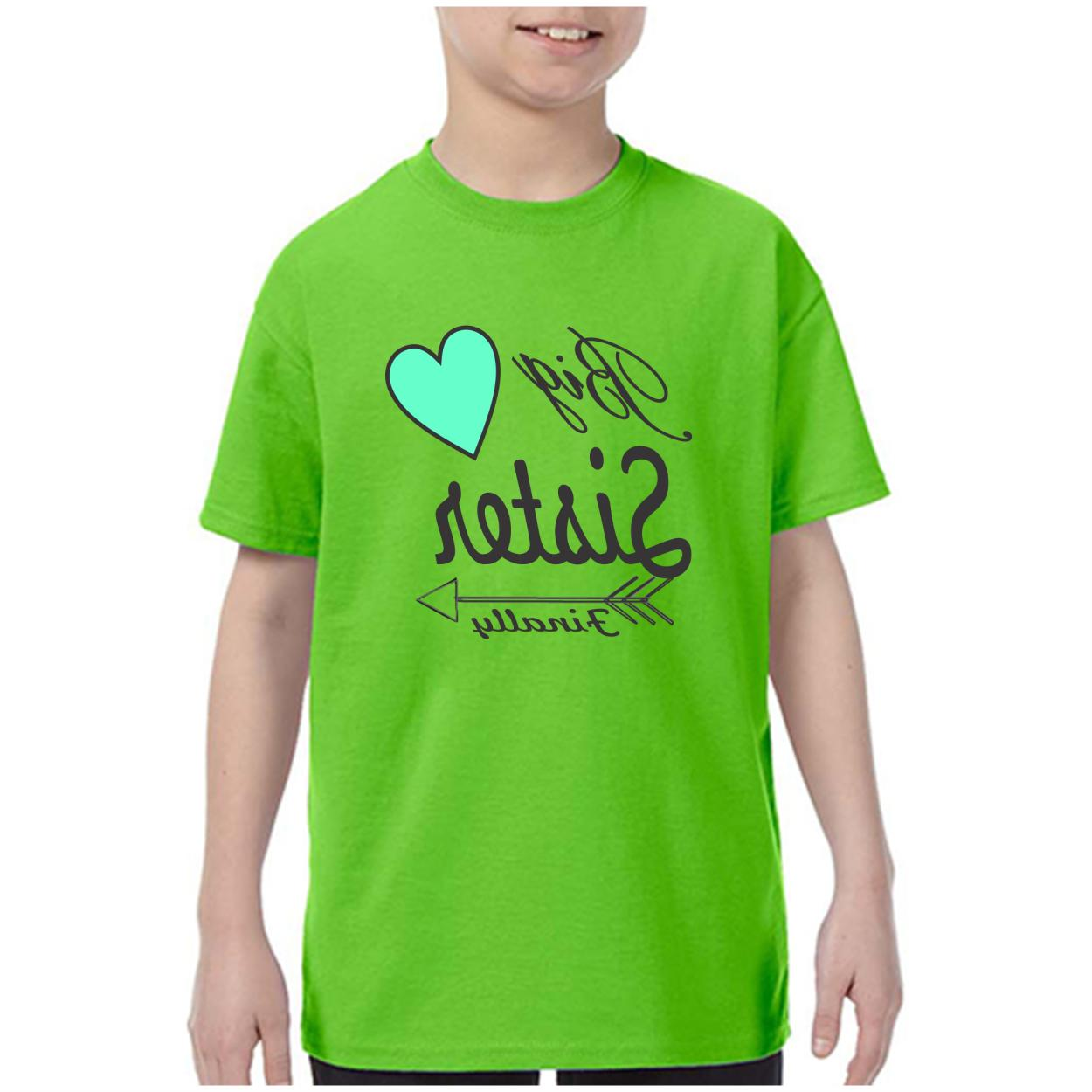 Youth Kids T-shirt Sister