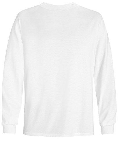 Joe's Sleeve Tee Youth-S-White
