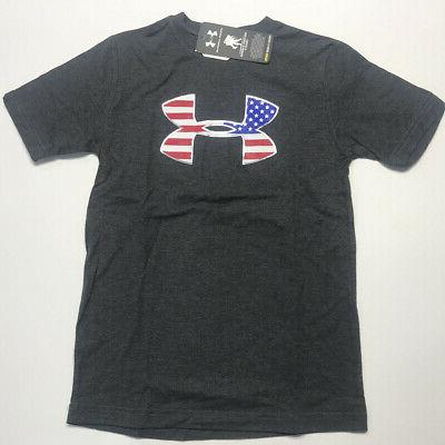 Under Armour Youth Fit 2-Pack Set USA Flag Grey July