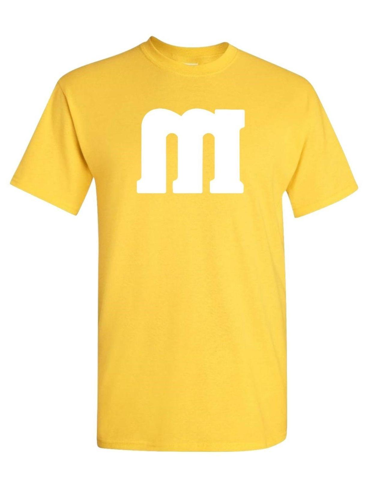 YOUTH M & M T-Shirt shirt Costume and 8 COLOR