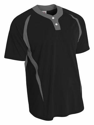 youth moisture wicks polyester short sleeve two