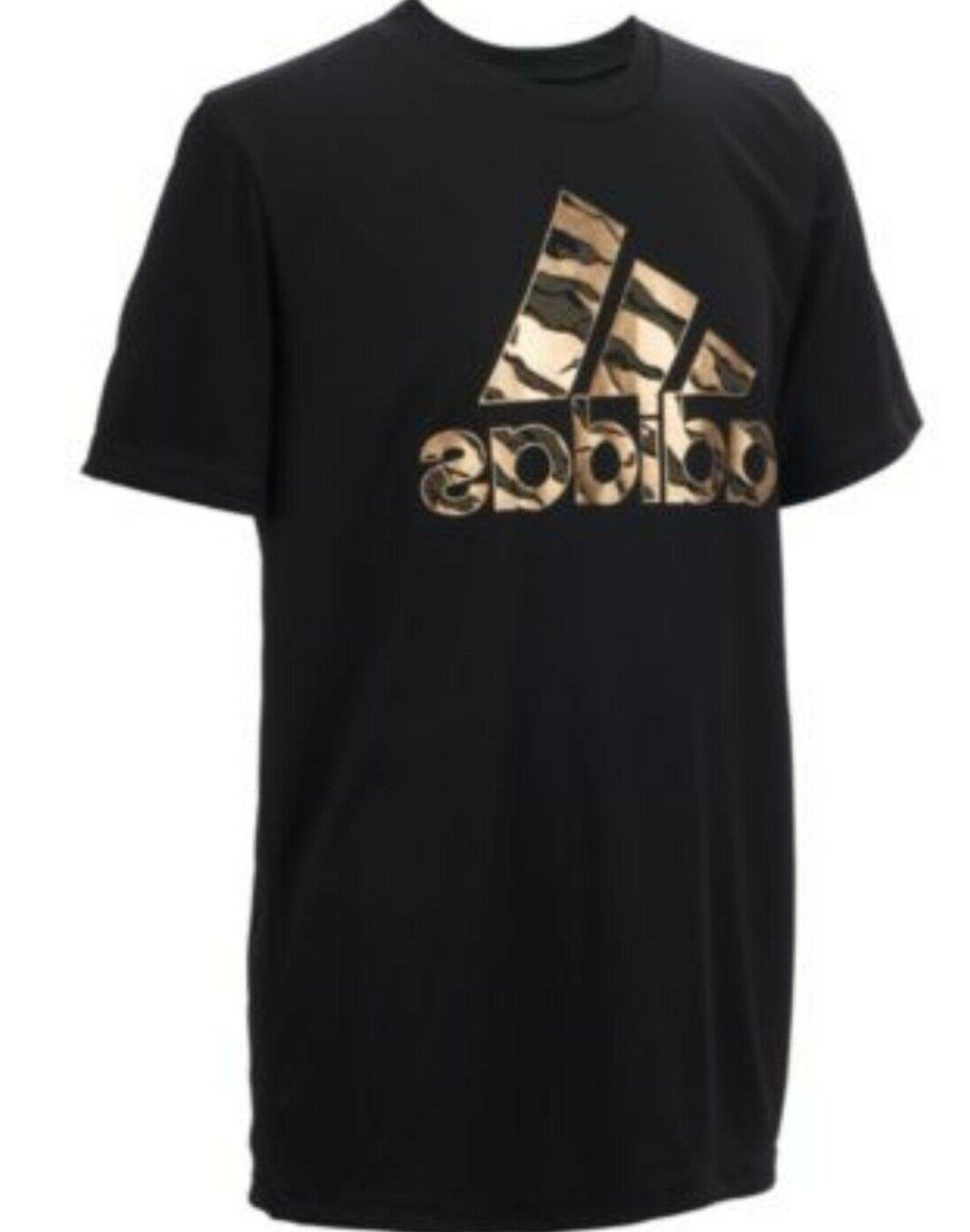 Adidas Short Sleeves Climalite Red, Black Gray Deal {&}