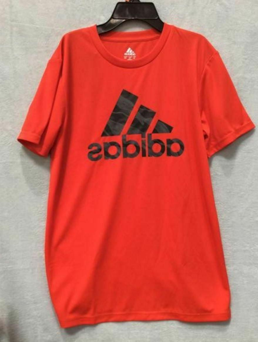 Adidas Youth Short Climalite Red, Black Gray {&}