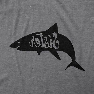 Youth Shark Funny Family Tee For