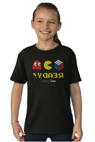 Youth Tees Tshirt Rubik's Video Gift