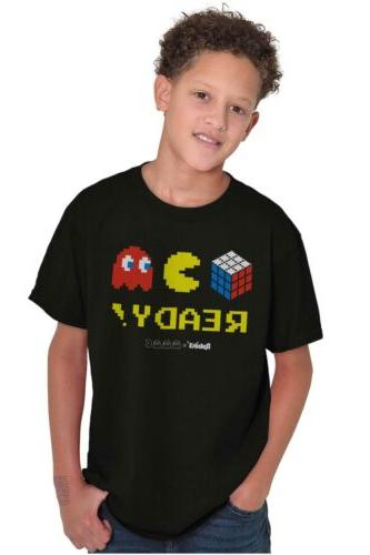 Youth T-Shirt Tees For Kids Ready Rubik's Game Gift