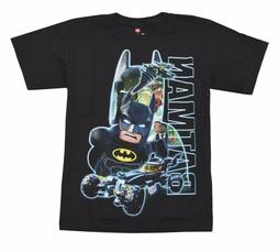Lego Batman Group Youth Big Boys Black T-shirt