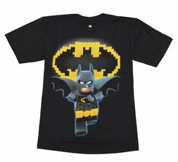 Lego Batman Youth Big Boys Black T-shirt