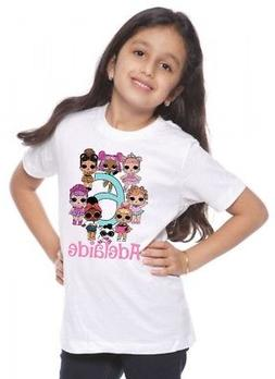 LOL Surprise Custom T-shirt PERSONALIZE Birthday Add Name an