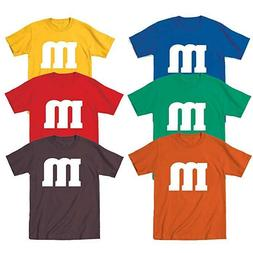 M & M Halloween Costume M and M Group Costumes Tee Youth T S
