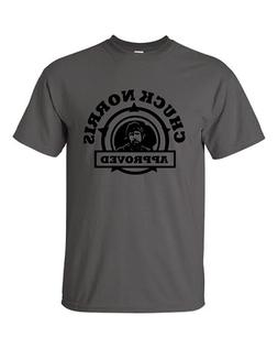 Men's Chuck Norris Approved T-Shirt Mens & Youth Sizes YS-5X