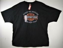 "Harley Davidson Men's ""Living My Youth"" New T Tee Shirt 4XL"