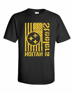 Men's Steelers Nation T-Shirt Youth & Adult sizes YS-5XL
