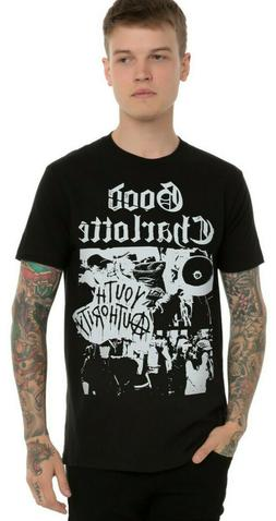 Mens Good Charlotte Youth Authority Riot Shirt New XS, S, M,