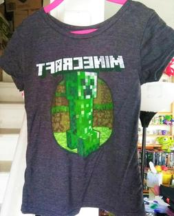 Minecraft Porkchop Youth Tee Shirt NEW Sizes Clothing Video Game