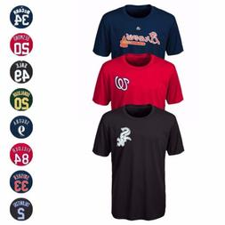 MLB Majestic Cool Base Name & Number Jersey T-Shirt Collecti